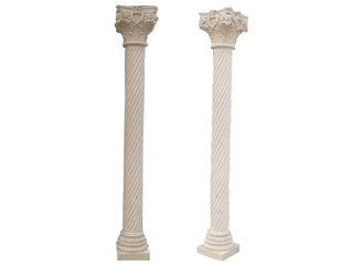 Marble Twisted Column CL-01