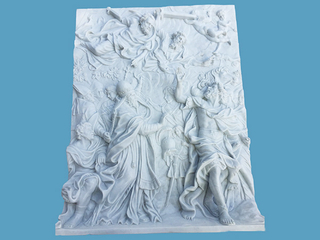 Ancient Style Marble Wall Relief RLF -04